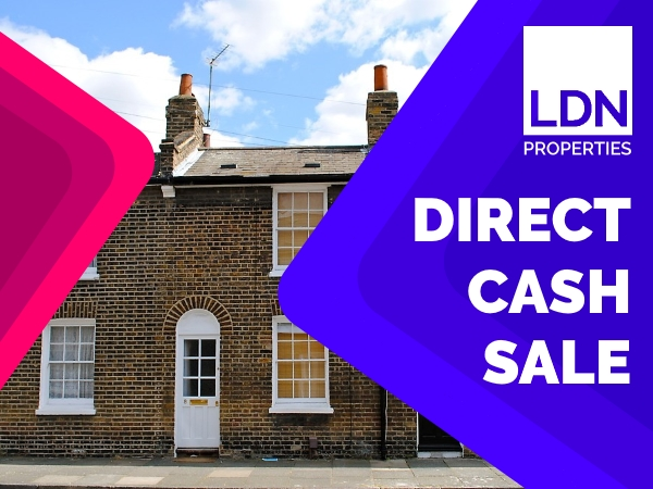 Terraced house - direct cash sale